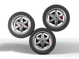 Hvordan balansere dekkene på en Acura TSX