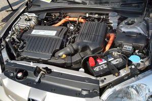 Hvordan skifte olje på en Honda Civic Hybrid
