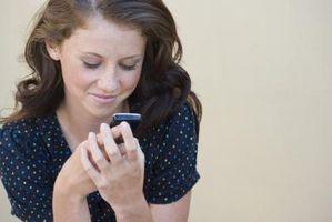 Hvordan jeg Forward talemeldinger på Verizon Cell Phones?