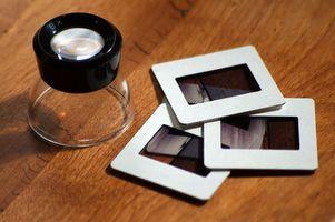 Hvordan slå lysbilder i en DVD
