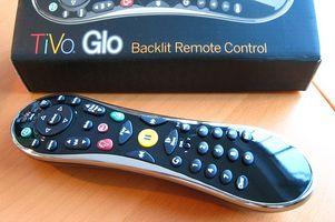TiVo Glo Premium Remote Instruksjoner