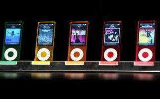 Hvordan endre kameraopptaksmodi på en iPod Nano