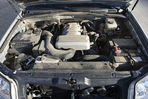 2000 Kia Sportage Hode Torque spesifikasjoner for en 2,0 liters motor