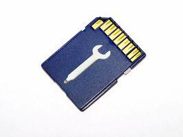 Hvordan låse opp minnekortet på en Nokia 6300