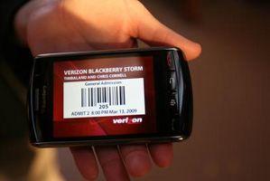 Hvordan Reset passordholderen på en Blackberry Storm
