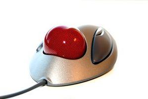Slik reparerer en Logitech Trackball Button