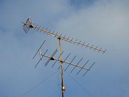 Hvordan koble en TV-antenne til en Sony plasma-skjerm