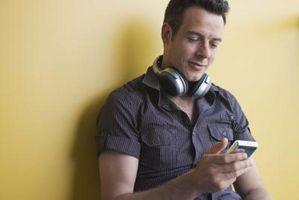Hvordan kan jeg endre bakgrunnen på en tredje generasjon iPod du?