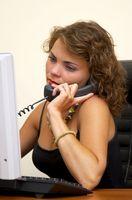 Retninger for en Mitel 3300 Telefon System