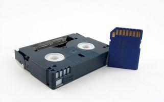 Slik konverterer Mini DV til Panasonic DVD-opptaker