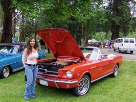 Hvordan sette Timing på en Mustang