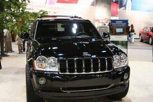 Feilsøking av bremser for en Jeep Cherokee