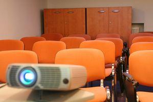 Hvordan du kan leie en DVD projektor