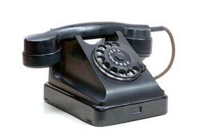 Hvordan eliminere en fasttelefon
