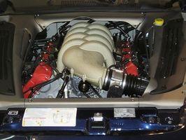 Deler av en Motor Engine