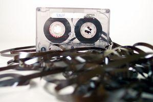 Hvordan bruke Scotch Audio Cassette Deck Leder Cleaner
