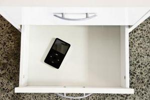 Hvordan få låsekoden på Meny for å komme opp på en iPod Touch