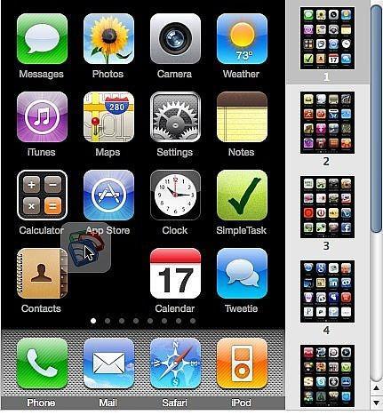 Hvordan organisere Apps for iPhone og iPod Touch i iTunes