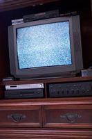 Samsung TV har linjer Når Audio er satt inn
