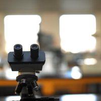 Hvordan du bytter fra strømsparings til High Power på et mikroskop synsfelts