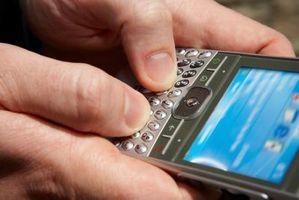 Hvordan sette sikkerhetskoden for en Blackberry