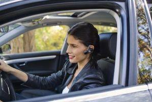 Hvordan aktiverer Bluetooth i 2007 Mercedes E 350