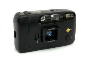 Spesifikasjoner for en Konica Big Mini BM 300 kamera