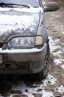 Ford Taurus Bumper instruksjoner for utskifting