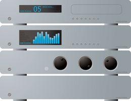 Hvordan sette opp My Panasonic SC-HT740 Stereo System