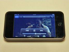 Hvordan slette filer på en Ipod Touch