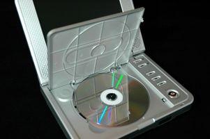 Hvordan bruke en DVD-spiller for å lese datafiler
