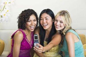 Hvordan å oppheve bilder i telefonen