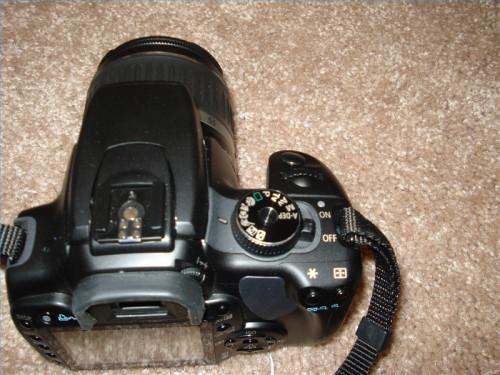 Hvordan ta Flytte bilder med en Canon Rebel XTi