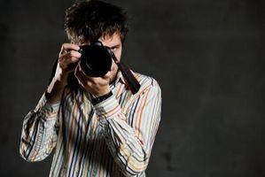 Hvordan bruke en Canon EOS 1000D SLR-kamera
