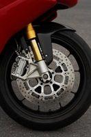 Michelin Motorsykkel Tire Installasjon