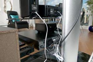 Må Alle ledninger kobles til en Stereo til arbeid?