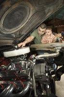 Slik feilsøker en 1994 Jeep Wrangler med olje i luftfilter