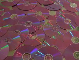 De indre delene av en CD-spiller