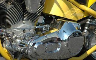 Slik fjerner kompensasjonshjul på en Harley-Davidson