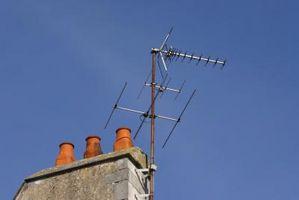 Hvordan sette opp en Rooftop TV-antenne