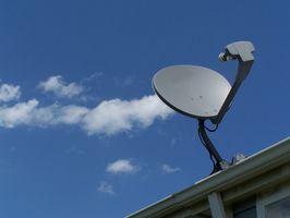 Hvordan koble opp Terk Satellitt antenner