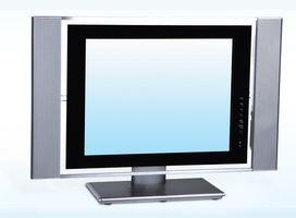 Hvordan kan jeg teste LCD bakgrunnsbelysning for å se om det fungerer?