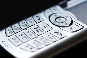 Hvor å låse opp fabrikkinnstillinger på en Nokia 7250