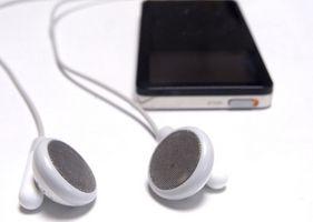 Hvordan mod en MP3-spiller