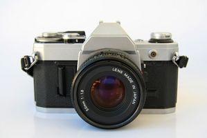 Canon AE-1 35 mm kamerainformasjon