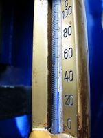 Hvordan Sett på ekstern temperaturføler på Fjellsport du?