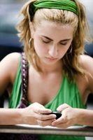 Hvordan sende tekst på en iPhone