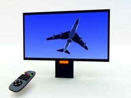 Hvordan du bytter fra en kabel inngang til en antenneinngang i en Sony TV