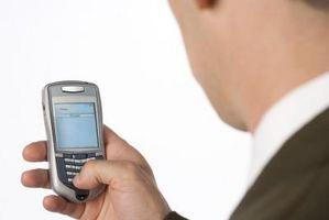 Hvordan lage objekter med symboler på en Cell Phone