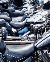 Hva slags skum er brukt i en motorsykkel Seat?